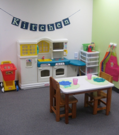 Playroom Kitchen Center